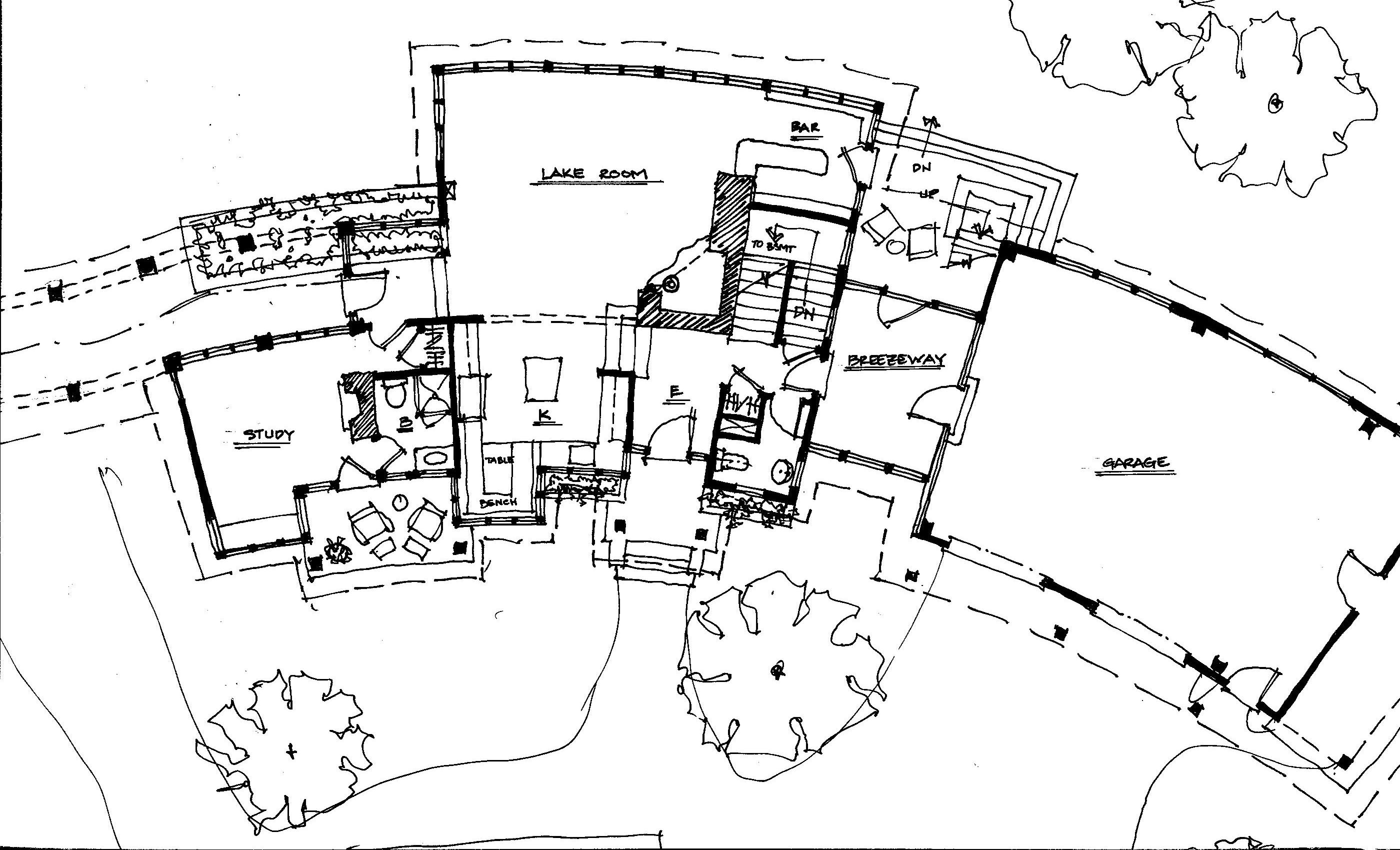 Pattern Builders Lake House Schematic Development